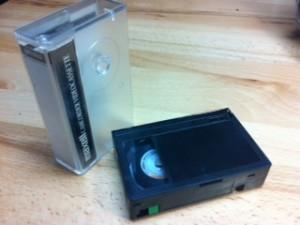 VHS-C cassette